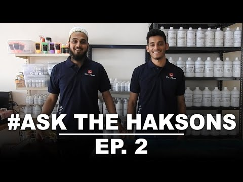 How to Mix Resin and Hardener correctly? | #AsktheHaksons Episode 2 #resin #DIY
