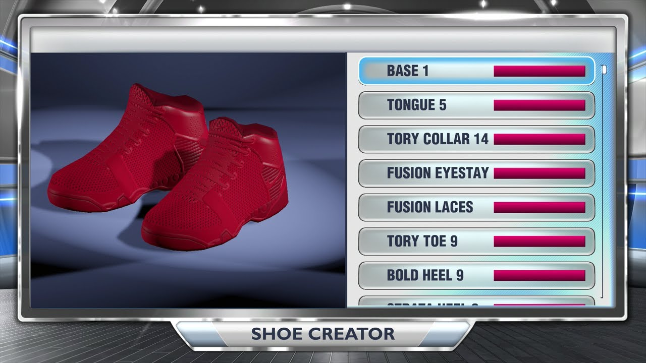 NBA 2K14 Next Gen Shoes - Nike Air Yeezy 2 Red October