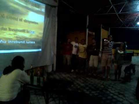 Karaoke-cine-a pus carciuma-n drum