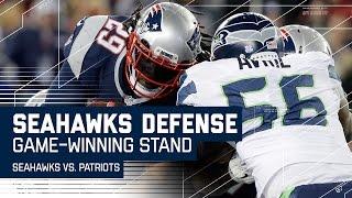 Seahawks' Defense Denies Patriots to Win Game!   Seahawks vs. Patriots