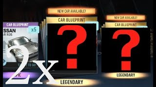 Need for Speed No Limits 10x Premium Crates Opening! 2 New Legendary Cars!