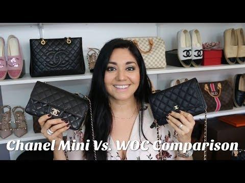 Chanel Mini Rectangular Flap Vs. WOC Comparison | Minks4All