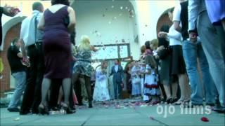 Зажигательная видеосъемка свадьбы в Москве