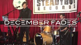 "December Fades: ""Under My Skin"" live song collage"