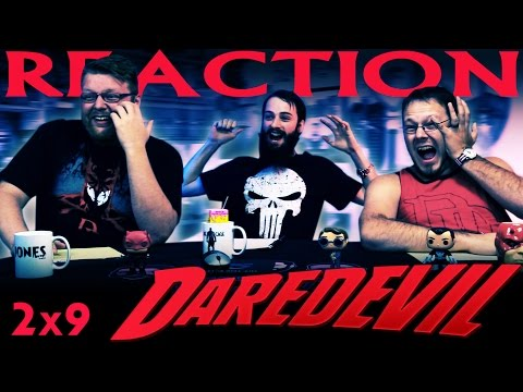 "DareDevil 2x9 REACTION!! ""Seven Minutes in Heaven"""