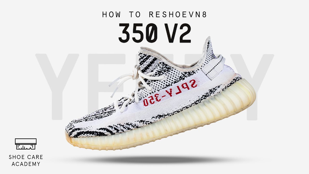 How To Clean Yeezy 350 V2 Zebra With