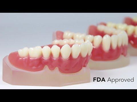 EnvisionTEC Vida: E-Denture Material - 3D Print Dentures