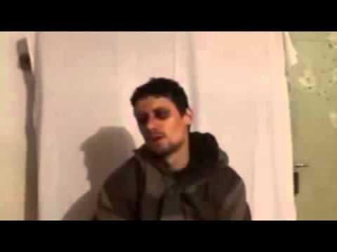 Captured terrorist from Novosibirsk East Donbass 28 02 2015 Ukraine Today,War News! 480p
