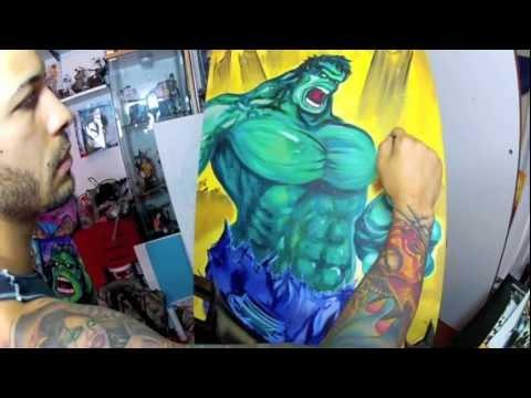 Hulk Speed Painting