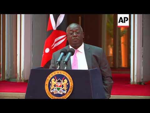 Kenyan president spox praises upholding of Kenyatta's election victory