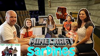 SARDiNES Hide And Seek IN MINECRAFT - Who Hid The Best? / That YouTub3 Family Family Channel