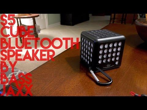 $5 Cube Bluetooth Speaker By Bass Jaxx