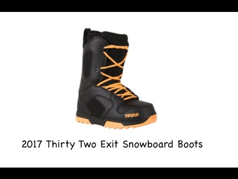 11.5 Black thirtytwo Exit 18 Snowboard Boots