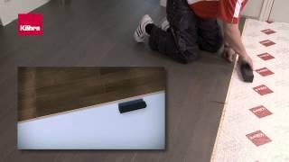 Kährs Woodloc 5S® normal installation обычная укладка