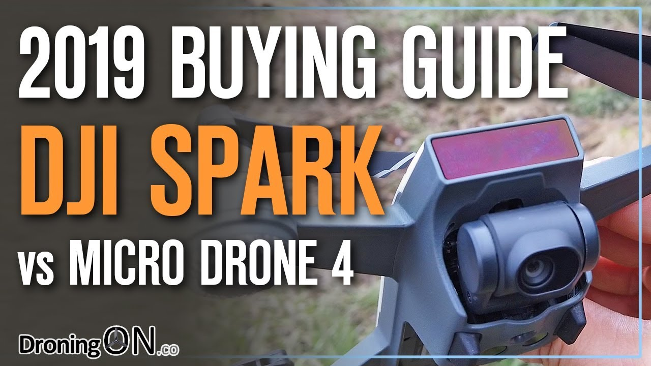 DJI Spark vs Micro Drone 4 (Crowd-fund Drone) – Which To Buy