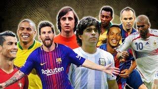 10 LEYENDAS de Fútbol