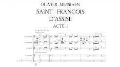 Olivier Messiaen - Saint François d'Assise, Act I (1983) (English Subtitles)