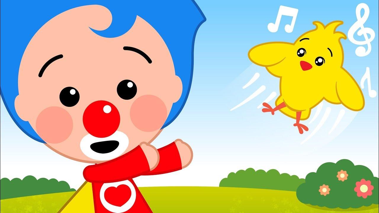 Me Contó un Pajarito - y Más Canciones de Plim Plim | El Reino Infantil