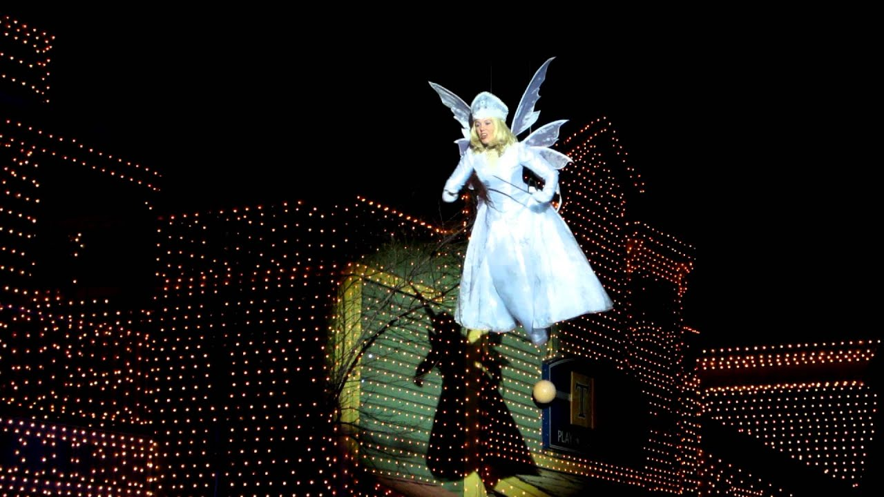Stone Mountain Park Christmas: Snow Angel Flight - YouTube