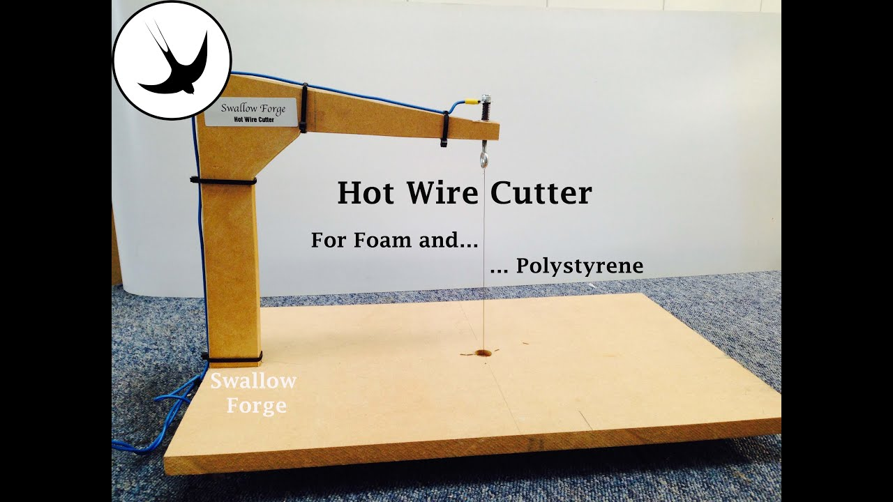 How to make a Hot Wire Cutter for foam or polystyrene- styro slicer ...