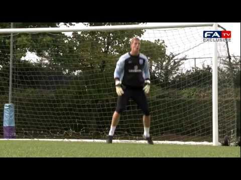 England U21's Goalkeeper Training | England Vs Israel Under-21s International 05/09/2011