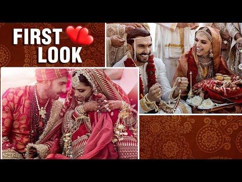 Deepika Ranveer FINALLY Share Their FIRST Wedding Pictures | DeepVeer Wedding
