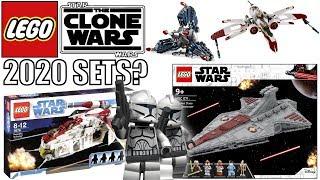 LEGO Star Wars 2020 CLONE WARS Sets?   New Trailer Set Ideas