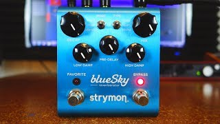 Strymon Blue Sky reverberator - 10 awesome ambient sounds!
