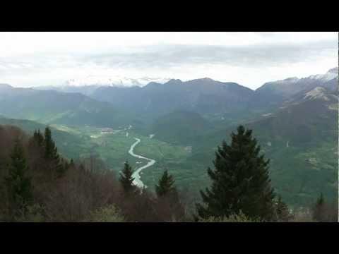 Tolmin Valley in Slovenia