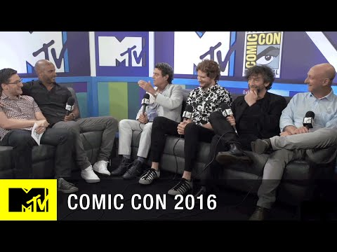 The American Gods Cast Chats About Their Huge Fan Base | Comic Con 2016 | MTV