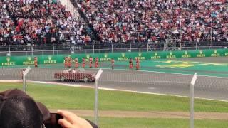 Desfile de pilotos Gran Premio de México 2015