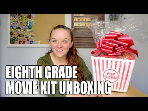 Download Eighth Grade Movie Kit Unboxing | Promotional Kit