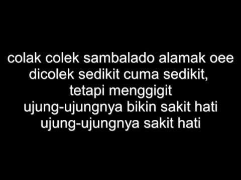 sambalado lirik