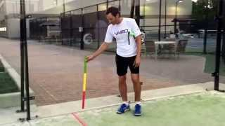 Padel tips by Mike May at The Houstonian Club