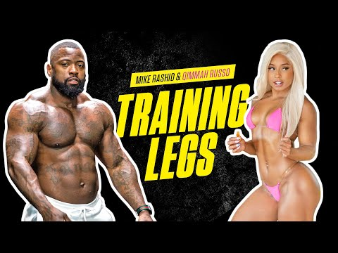 Complete Workout | Mike & Qimmah Training Legs | Mike Rashid