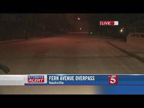 Winter Weather in Nashville -- 5:30 AM
