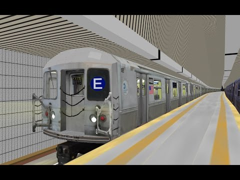 OpenBVE HD: NYC Subway R40M E Train w/ New SMEE Trucks Operating to World  Trade Center