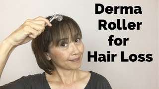 Derma Roller on Scalp for Hair Loss - Massage Monday #440