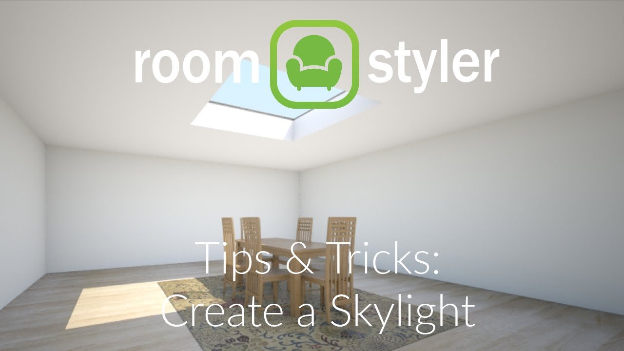 Roomstyler tips and tricks make a skylight youtube for Roomstyler com
