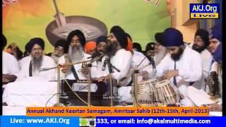Bhai Manpreet Singh ji Annual Akhand Kirtan Samagam,Amritsar (14 april 2013)
