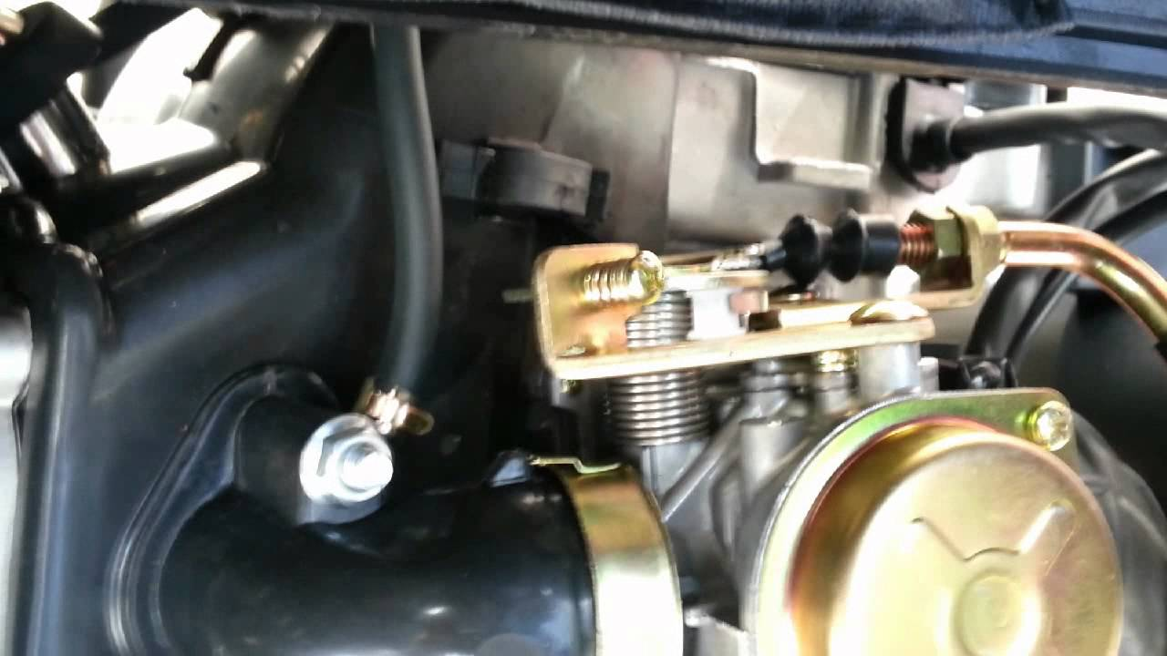 Scooter carburetor accelerator pump adjustment youtube publicscrutiny Choice Image