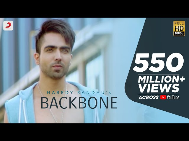 Hardy Sandhu - Backbone | Jaani | B Praak | Zenith Sidhu | Latest Romantic Song 2017