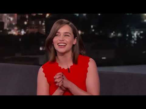 Emilia Clarke doing the American accent 😍