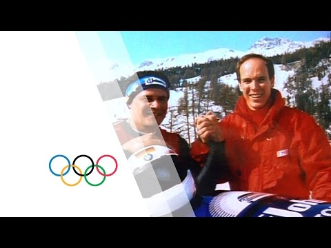Bobsleigh - Part 7 - The Lillehammer 1994 Olympic Film   Olympic History