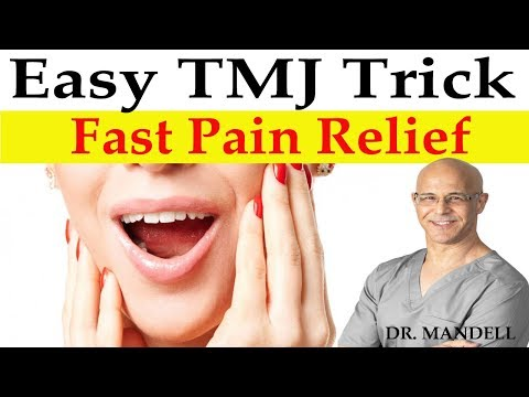 Easy TMJ Trick for Fast Pain Relief & Correction - Dr Alan Mandell, DC
