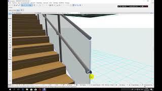 Инструмент ограждение ARCHICAD 21 Railing Tool 2