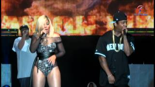 Ja Rule and Ashanti performing ALWAYS ON TIME at Bovi Man on Fire 2014