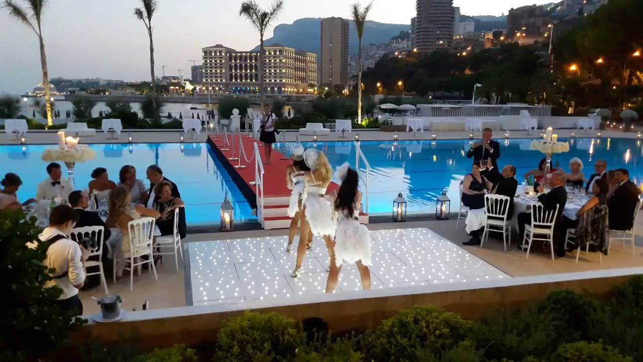 Danseuses Cabaret Monte Carlo Beach Monaco Youtube