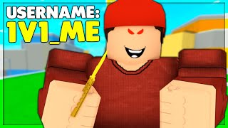 "I put ""1V1 ME"" in my Roblox name and Danced on Them (Roblox Arsenal)"