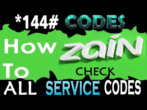 Zain Mobile Codes 2020